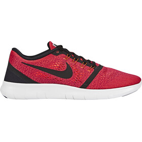 Nike Free RN Shoes Men hyper orange/black-ocean fog-wolf grey